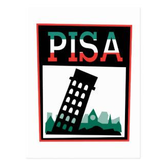Cartão Postal Poster de Pisa