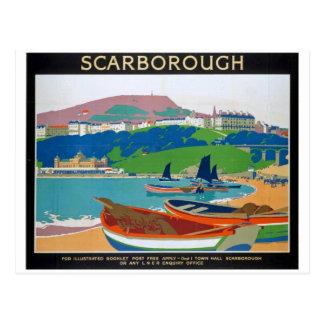 Cartão Postal Poster de Scarborough da visita