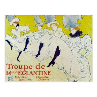 Cartão Postal Poster de Toulouse Lautrec
