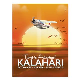 Cartão Postal Poster de viagens da aventura do deserto de