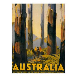Cartão Postal Poster de viagens de Austrália do destino