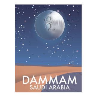 Cartão Postal Poster de viagens de Dammam Arábia Saudita
