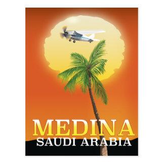 Cartão Postal Poster de viagens de Medina Arábia Saudita