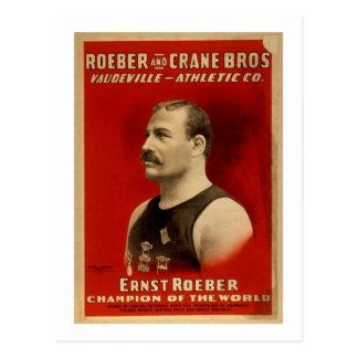 Cartão Postal Poster do atletismo
