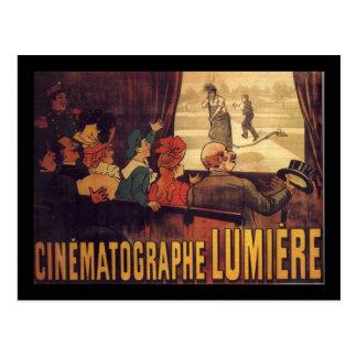 Cartão Postal Poster do cinema de Lumière