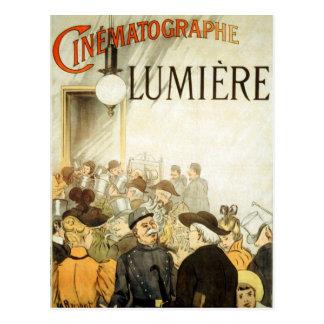Cartão Postal Poster do cinema dos irmãos de Lumière