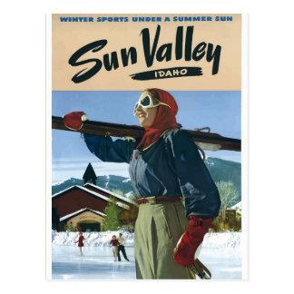 Cartão Postal Poster EUA das viagens vintage de Idaho