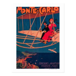Cartão Postal Poster ostentando da aviação