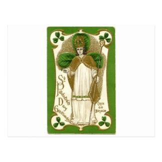 Cartão Postal Poster velho bonito de patrick de santo