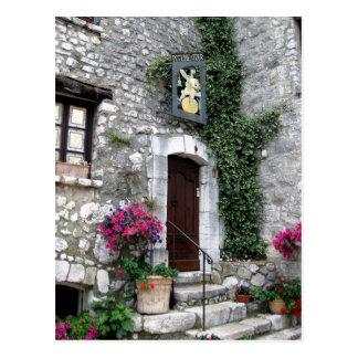 Cartão Postal Poterie de la Visita no La Turbie, France