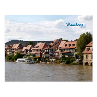 Cartão Postal Pouca Veneza em Bamberga