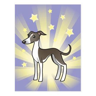 Cartão Postal Pouco galgo da estrela/Whippet/galgo italiano