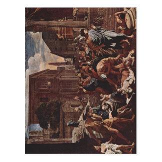 Cartão Postal Poussin, Nicolas morre d'Asd de Praga von Azoth La