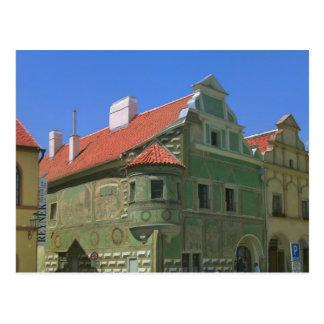 Cartão Postal Praça da cidade velha cercada em o século XVI 2