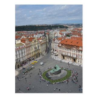 Cartão Postal Praça da cidade velha, Praga