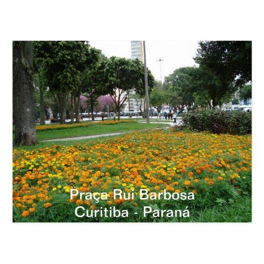 Cartão Postal Praça Rui Barbosa