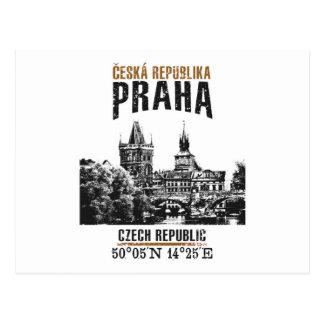 Cartão Postal Praga