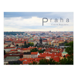 Cartão Postal Praga 001, foto checa