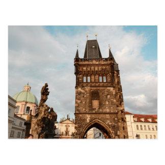 Cartão Postal Praga, foto checa