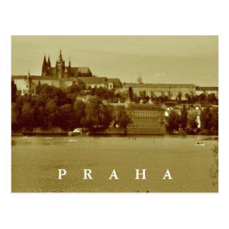 Cartão Postal Praga, república checa