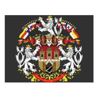 Cartão Postal Praha, checo