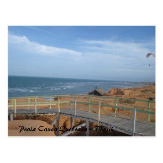Cartão Postal Praia