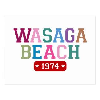 Cartão Postal Praia 1974 de Wasaga