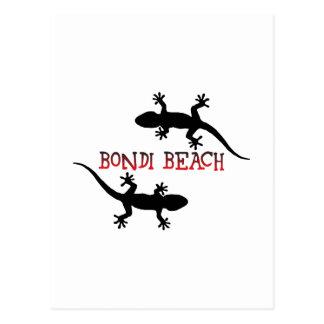 Cartão Postal Praia Austrália de Bondi