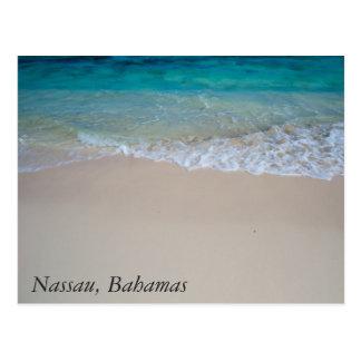Cartão Postal Praia baamiana simples