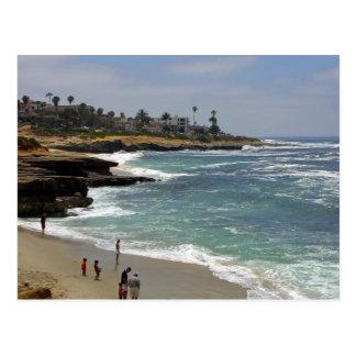 Cartão Postal Praia da angra de La Jolla