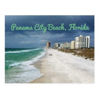 Cartão Postal Praia da Cidade do Panamá, Florida