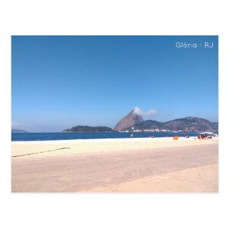 Cartão postal - praia da glória