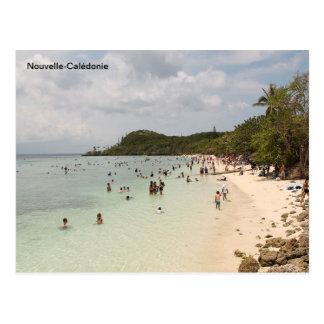 Cartão Postal Praia da ilha de Lifou, Nova Caledônia