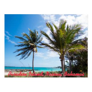 Cartão Postal Praia da ilha do paraíso