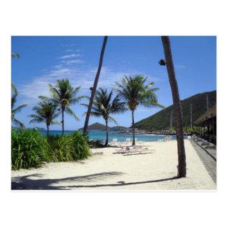 Cartão Postal Praia da safira, St Thomas, Virgin Islands