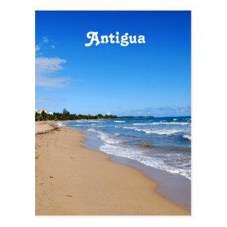 Cartão Postal Praia de Antígua