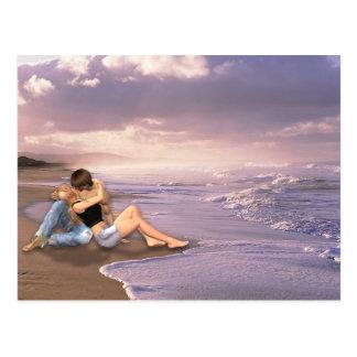 Cartão Postal Praia de aqui à eternidade