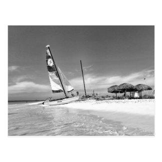 Cartão Postal Praia de B&W Havana