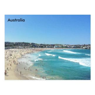 Cartão Postal Praia de Bondi, Novo Gales do Sul, Austrália