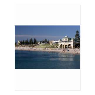 Cartão Postal Praia de Cottesloe em Perth, Austrália Ocidental