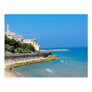 Cartão Postal Praia de Jaffa