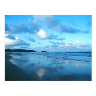 Cartão Postal Praia de Karon, ilha de Phuket