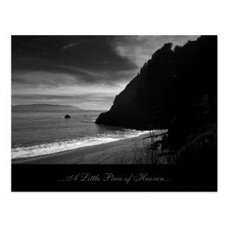 Cartão Postal Praia de Kirby - uma parte pequena de céu