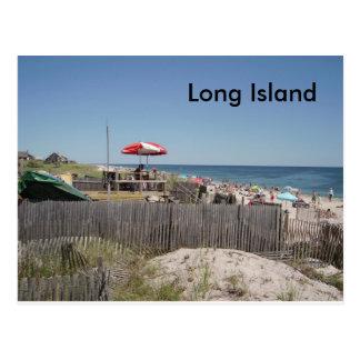 Cartão Postal Praia de Long Island