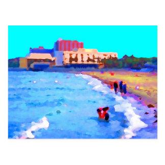Cartão Postal Praia de Magee