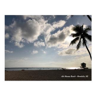 Cartão Postal Praia de Moana de Alá