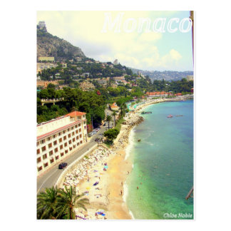 Cartão Postal Praia de Monaco