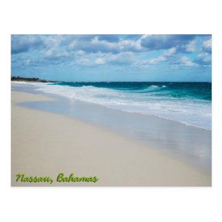 Cartão Postal Praia de Oceano Atlântico