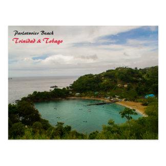 Cartão Postal Praia de Parlatuvier