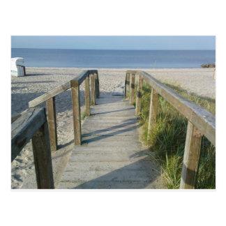Cartão Postal Praia de setembro